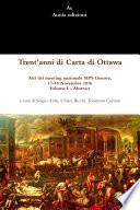 Trent'anni di Carta di Ottawa. Atti del meeting nazionale SIPS Genova, 17-18 Novembre 2016