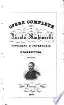 Tutte le opere di Niccolò Machiavelli