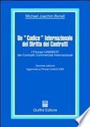 Un Codice internazionale del diritto dei contratti