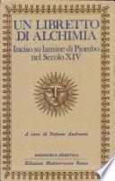 Un Libretto di alchimia
