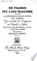 Un viaggio sul Lago maggiore ovvero la descrizione delle sponde del Verbano (etc.)