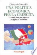 Una politica economica per la crescita