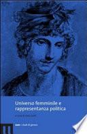 Universo femminile e rappresentanza politica