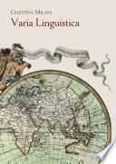 Varia Linguistica
