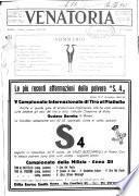 Venatoria ufficiale della Federazione nazionale fascista cacciatori italiani, delle Commissioni venatorie prov. e delle Associazioni prov. cacciatori