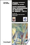 Ventisettesimo rapporto sull'occupazione in provincia di Trento