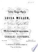 Verdi's tragic opera ... with Italian&English words, the latter ... by C. Jefferys. [Vocal score.]