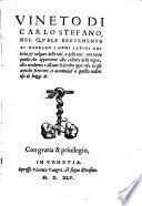 Vineto di Carlo Stefano