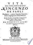 Vita del Venerabile Vincenzo de Paoli