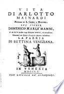Vita di Arlotto Mainardi, piovano di S. Cresci a Maciuoli