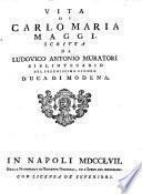 Vita di Carlo Maria Maggi