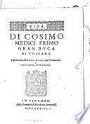 Vita di Cosimo Medici