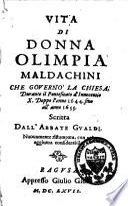 Vita di donna Olympia Maldachini
