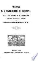 Vita di S. Margherita da Cortona del terz'ordine di S. Francesco