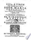 Vita e virtu di Suor Maria Crocifissa della concezzione (etc.)