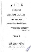 Vite De Famosi Capitani D'Italia
