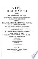 Vite dei Santi divise per ciascun giorno dell' anno ... Versione Italiana del ... Giuseppe Jennat