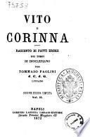 Vito e Corinna racconto di fatti eroici dei tempi di Diocleziano per Tommaso Paolini