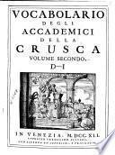 Vocabolario degli Accademici della Crusca: L-P