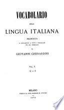 Vocabolario della lingua italiana proposto a supplimento a tutti i vocabolarj fin ora pubblicati