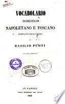 Vocabolario domestico napoletano e toscano compilato nello studio di Basilio Puoti