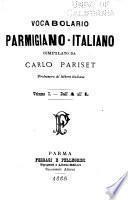 Vocabolario parmigiano-italiano