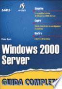 Windows 2000 Server Guida Completa
