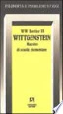 Wittgenstein. Maestro di scuola elementare